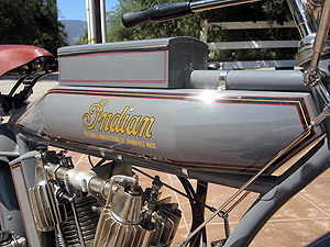 1913 Big Twin tank and heads