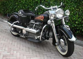 1941 Four w Glide front end R