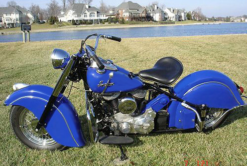 1950 Chief in dark blue