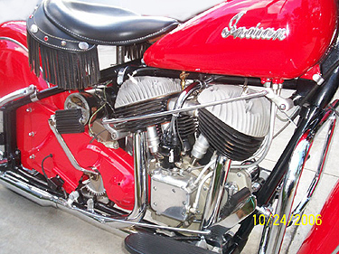 1953 Chief br red engine R sm