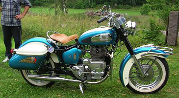 1959 Chief blue and white R side