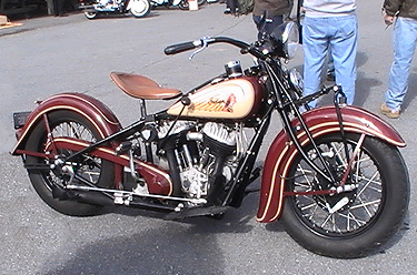 1930's maroon Chief Oley