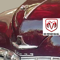 Dodge car with logo