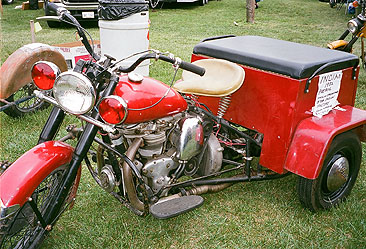 warrior red trike L